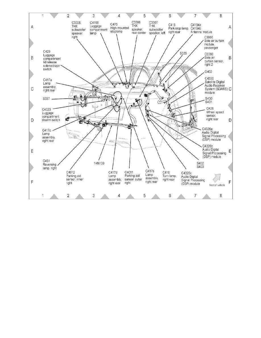 Ford Workshop Manuals > Fusion FWD L4-2.3L (2008) > Relays