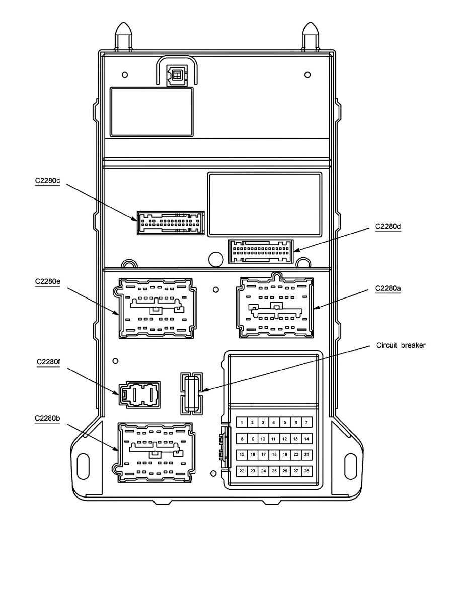 Ford Workshop Manuals > Fusion FWD V6-3.0L (2009) > Power