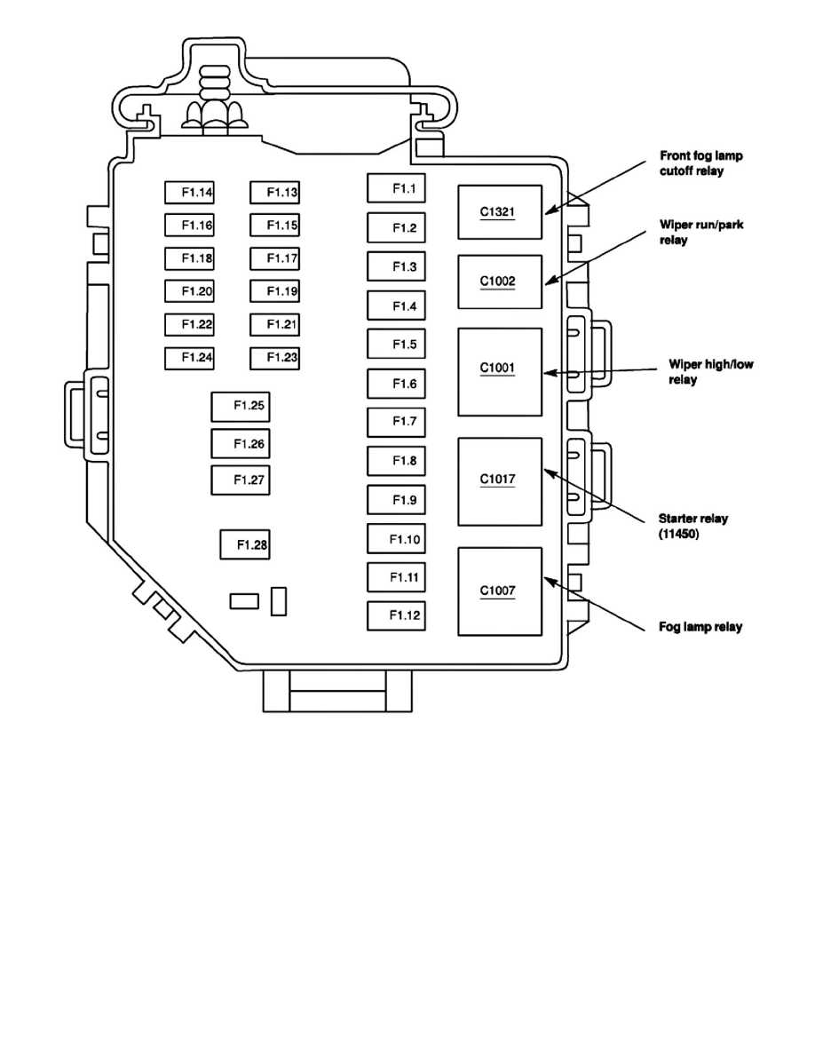 2002 Ford Mustang Gt Fuse Box Diagram. Ford. Auto Wiring