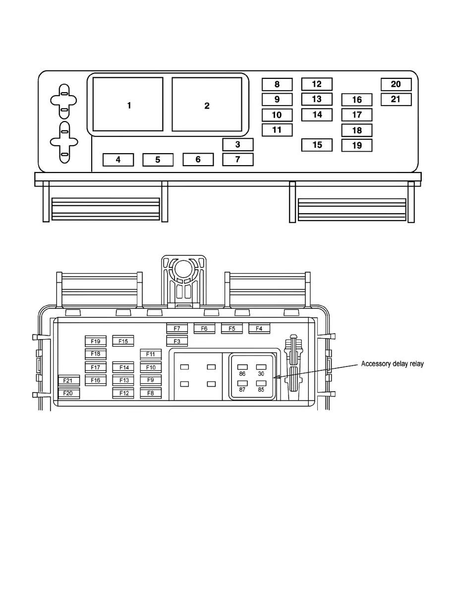 Ford Workshop Manuals > Mustang V8-5.4L SC VIN S (2007