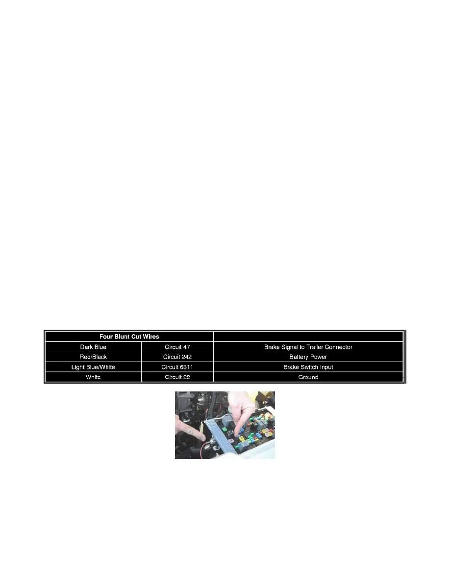 hight resolution of aftermarket trailer brake controller background image gmc workshop manuals sierra