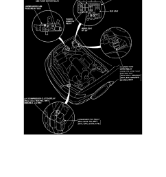 relays and modules relays and modules cooling system radiator fan relay radiator cooling fan motor relay component information locations  [ 918 x 1188 Pixel ]