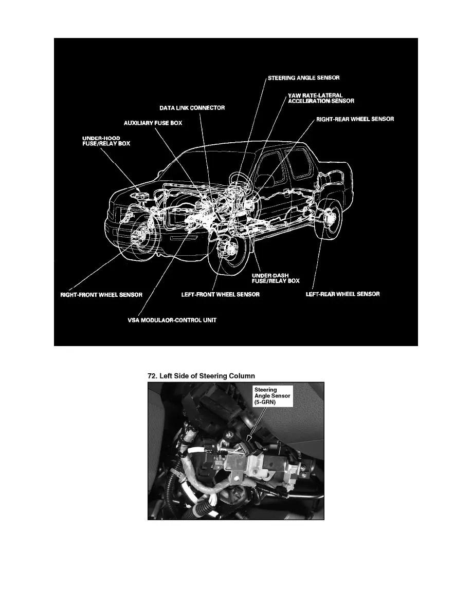 medium resolution of sensors and switches sensors and switches steering and suspension sensors and switches honda workshop manuals ridgeline