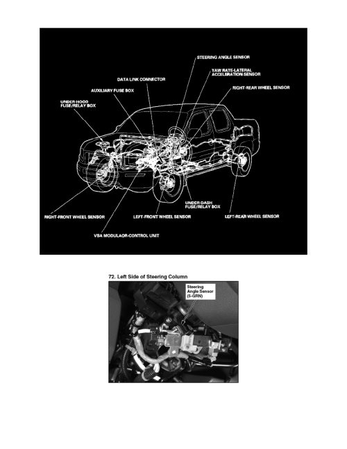 small resolution of sensors and switches sensors and switches steering and suspension sensors and switches honda workshop manuals ridgeline