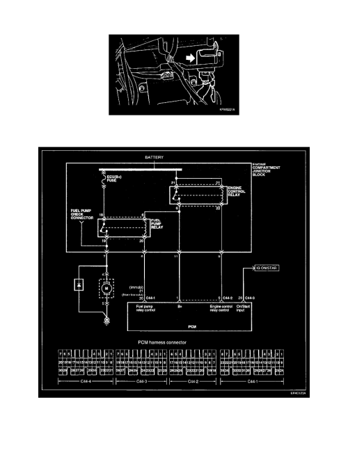 small resolution of  management relays and modules fuel delivery and air induction main relay computer fuel system component information diagrams page 450