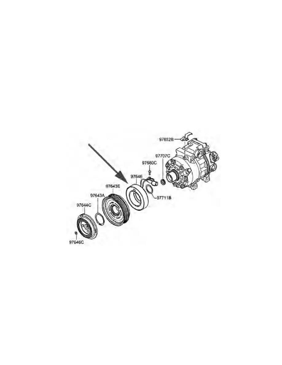 Hyundai Workshop Manuals > Tucson V6-2.7L (2005) > Heating
