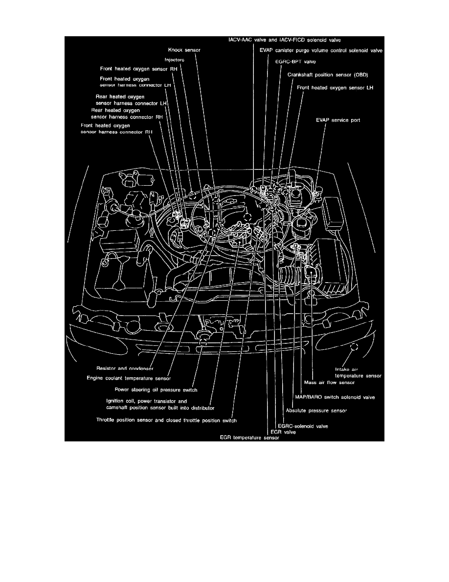 2001 Infiniti Qx4 Exhaust System Diagram