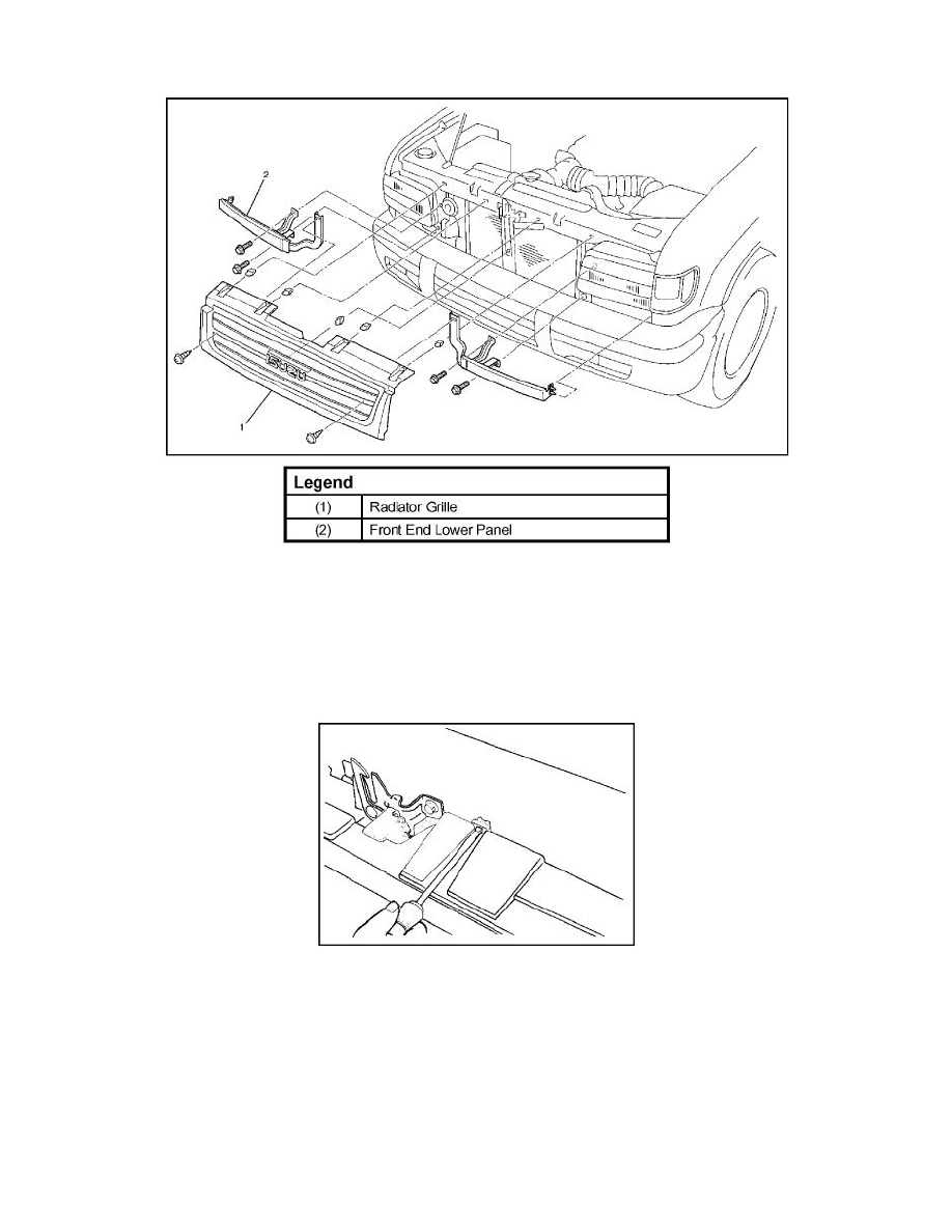 Isuzu Workshop Manuals > Trooper S 4WD V6-3.5L (2002