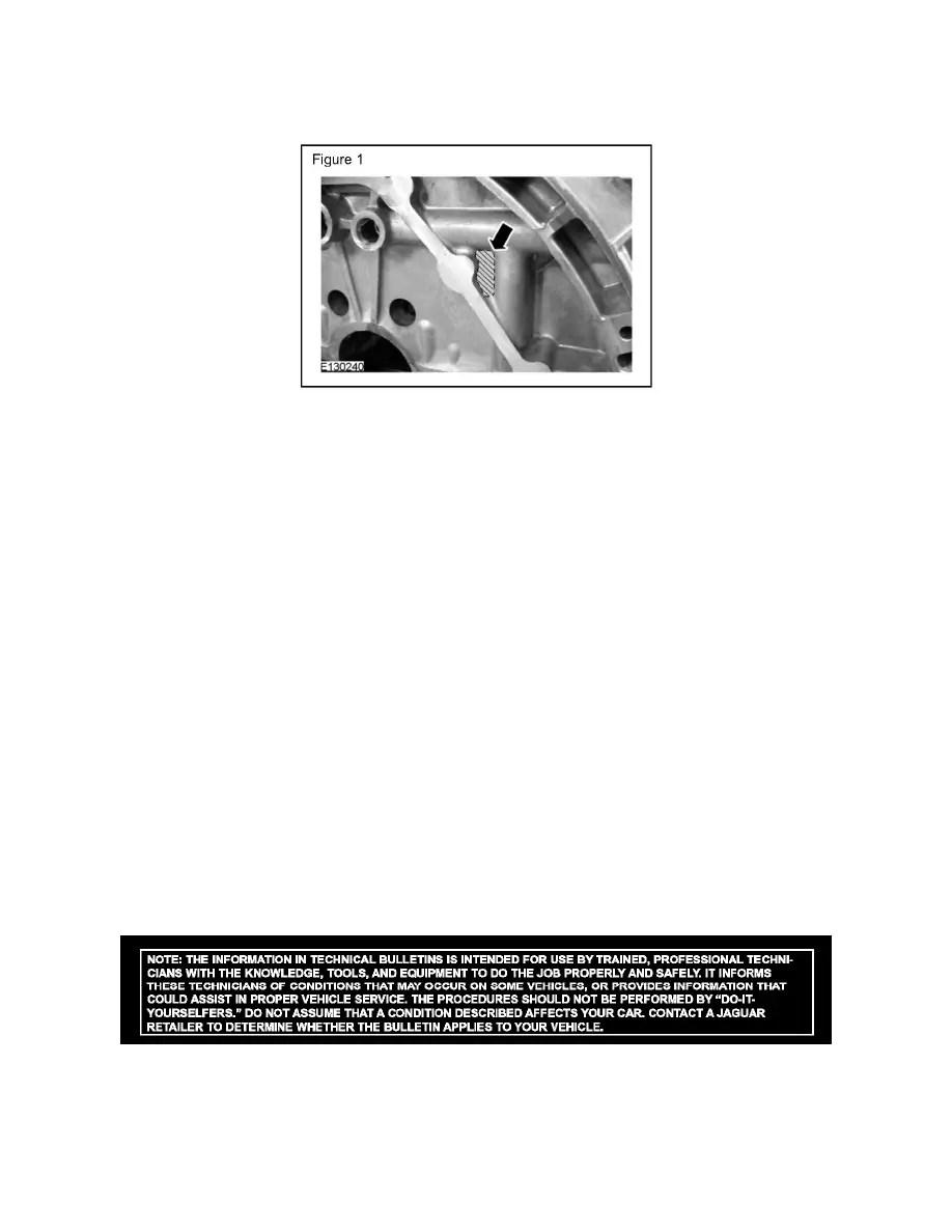 Jaguar Workshop Manuals > XF (X250) V8-5.0L SC (2010