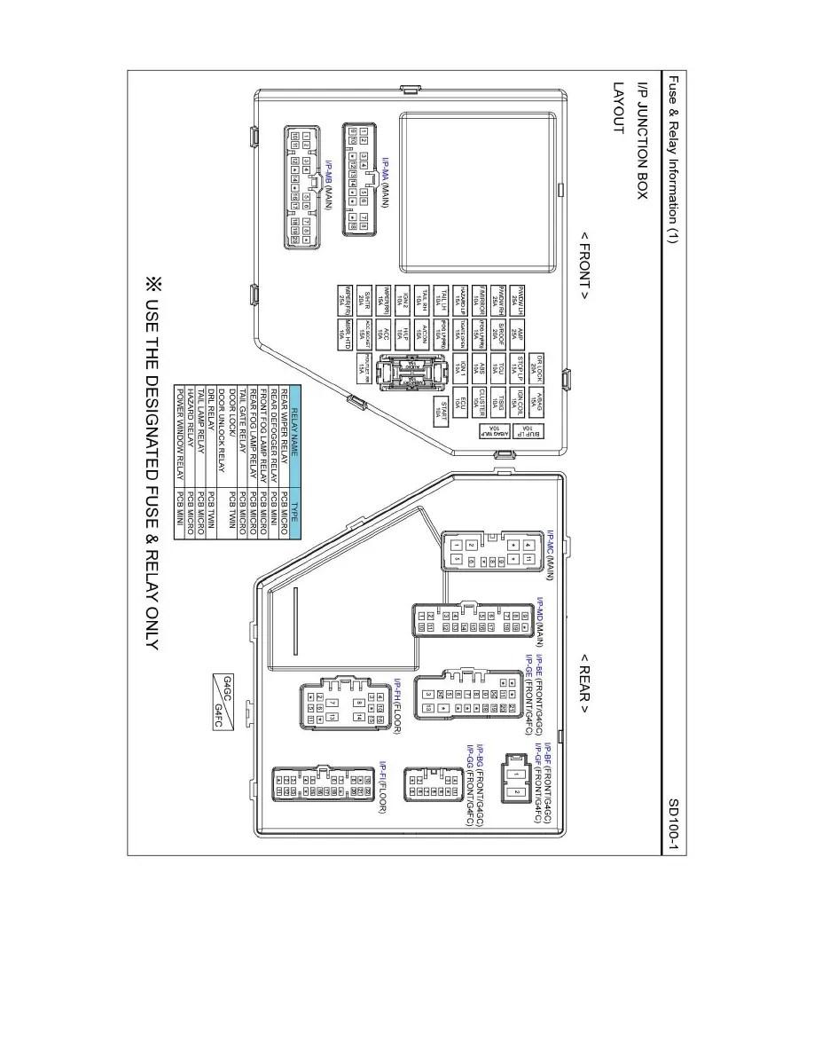 Kia Workshop Manuals > Soul L4-2.0L (2010) > Relays and