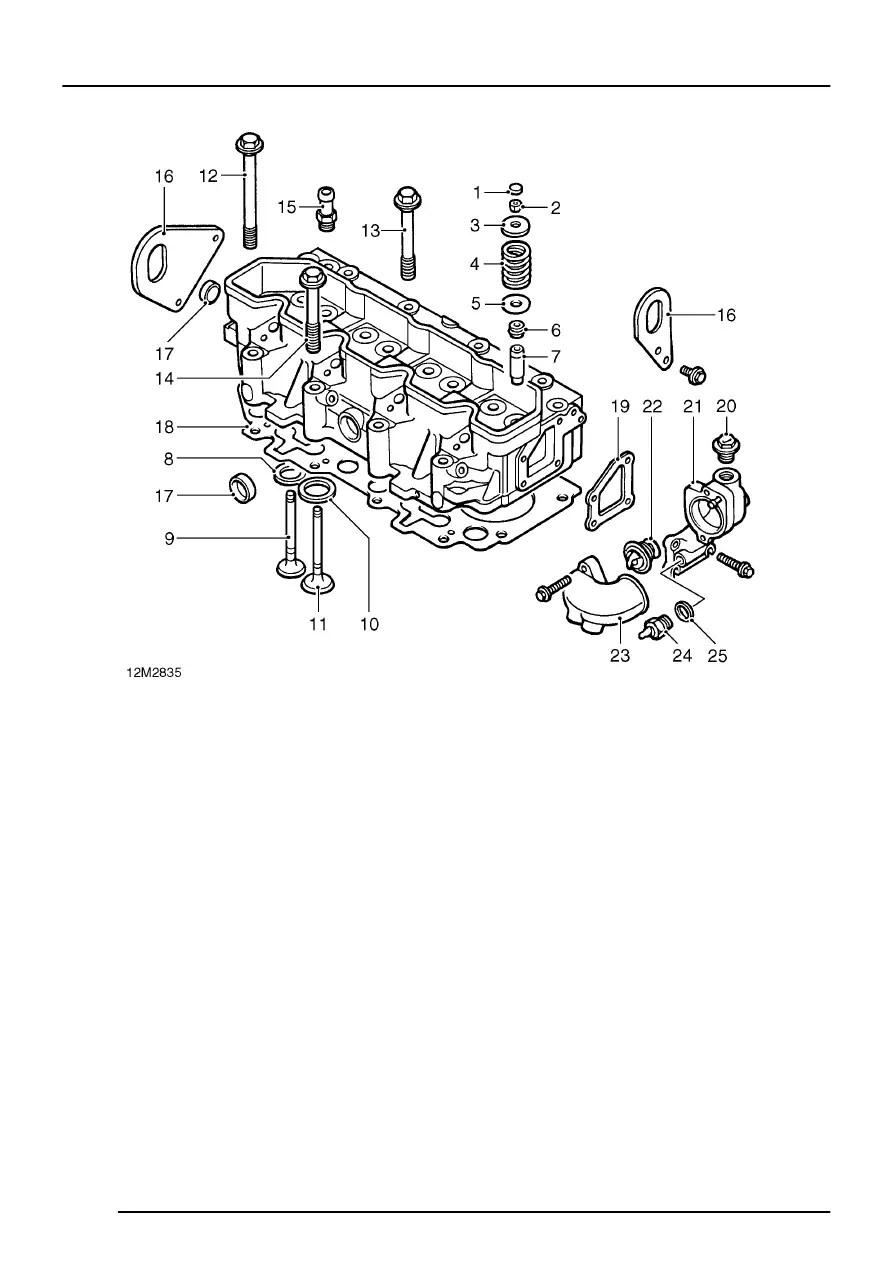 Land Rover Workshop Manuals > 300Tdi Engine > DESCRIPTION