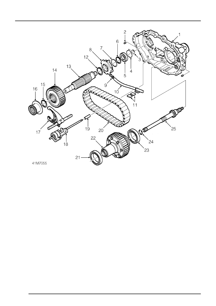 Land Rover Workshop Manuals > Borg Warner Transfer Box