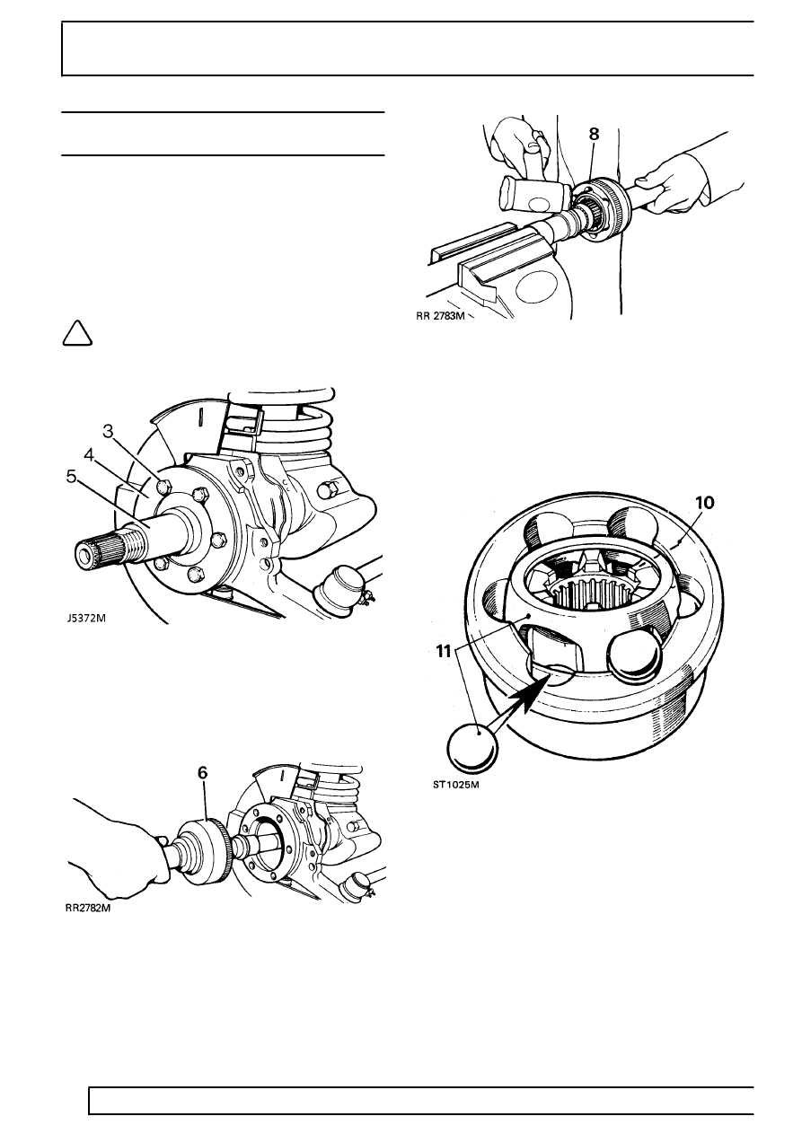 [1995 Land Rover Defender Removing Front Hub Assembly