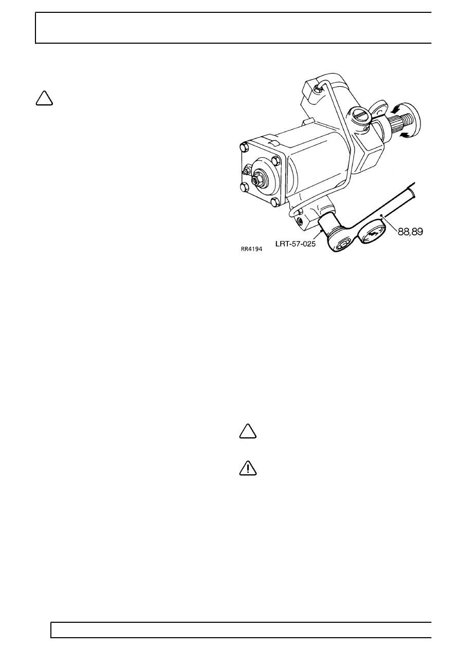 Land Rover Workshop Manuals > 300Tdi Defender > STEERING