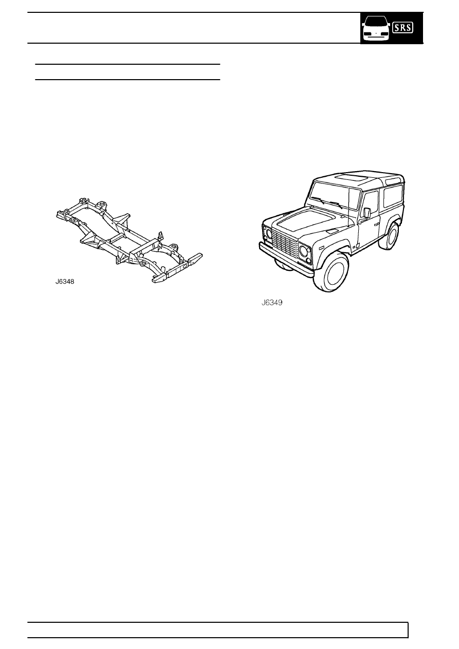 Land Rover Workshop Manuals > 300Tdi Defender > CHASSIS