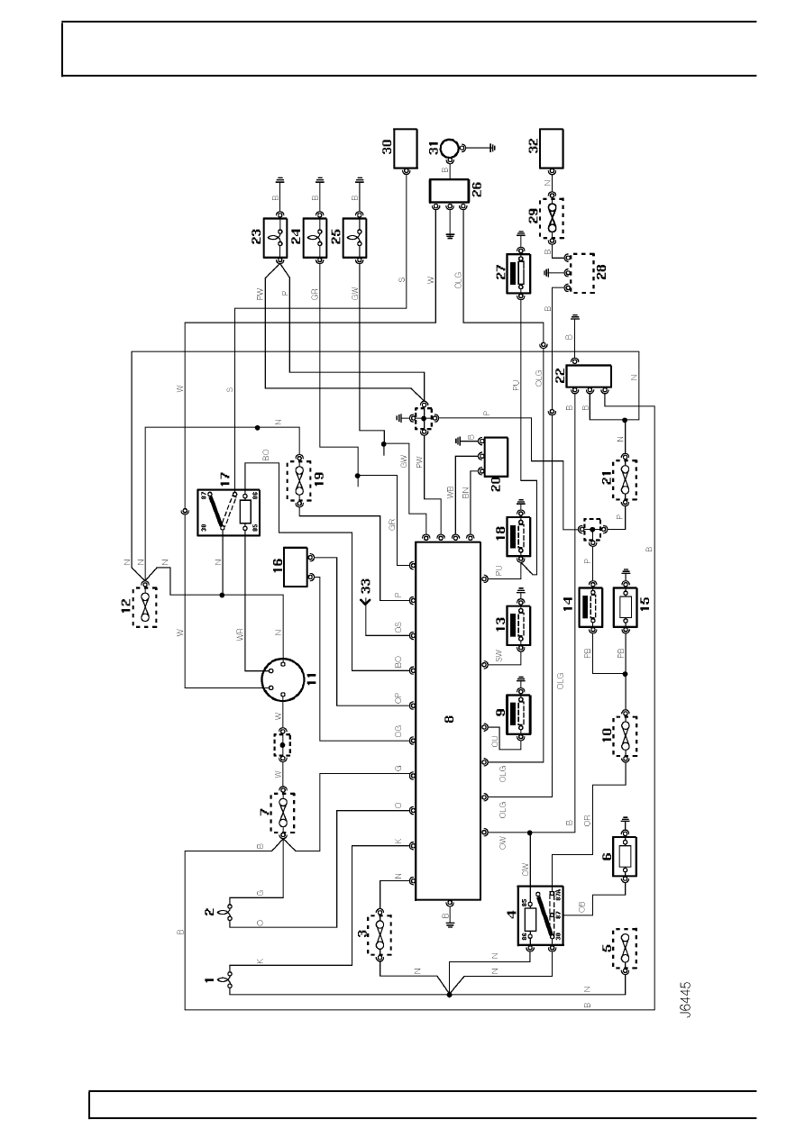 hight resolution of electrical immobilisation and alarm system circuit diagram page 625