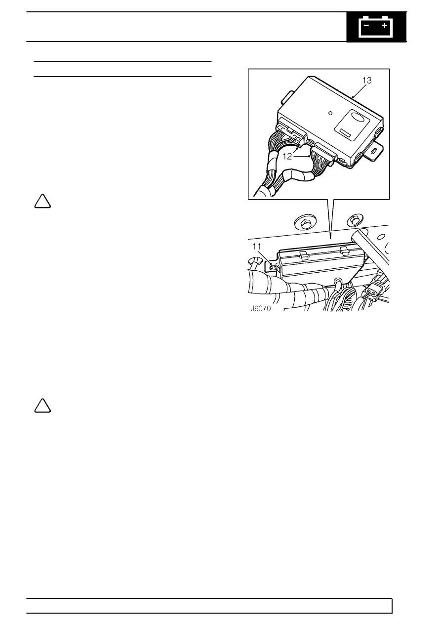 Land Rover Workshop Manuals > 300Tdi Defender > ELECTRICAL