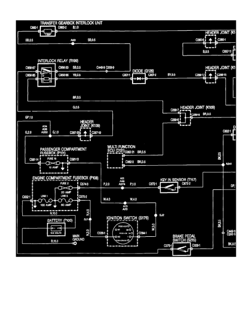 small resolution of land rover workshop manuals u003e defender 90 ld v8 4 0l 1997 2000 land rover discovery engine diagram rover transmission diagrams