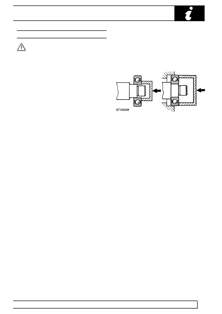 Land Rover Workshop Manuals > TD5 Defender > GENERAL