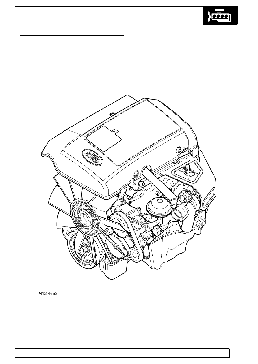Land Rover Workshop Manuals > TD5 Defender > ENGINE > TD5
