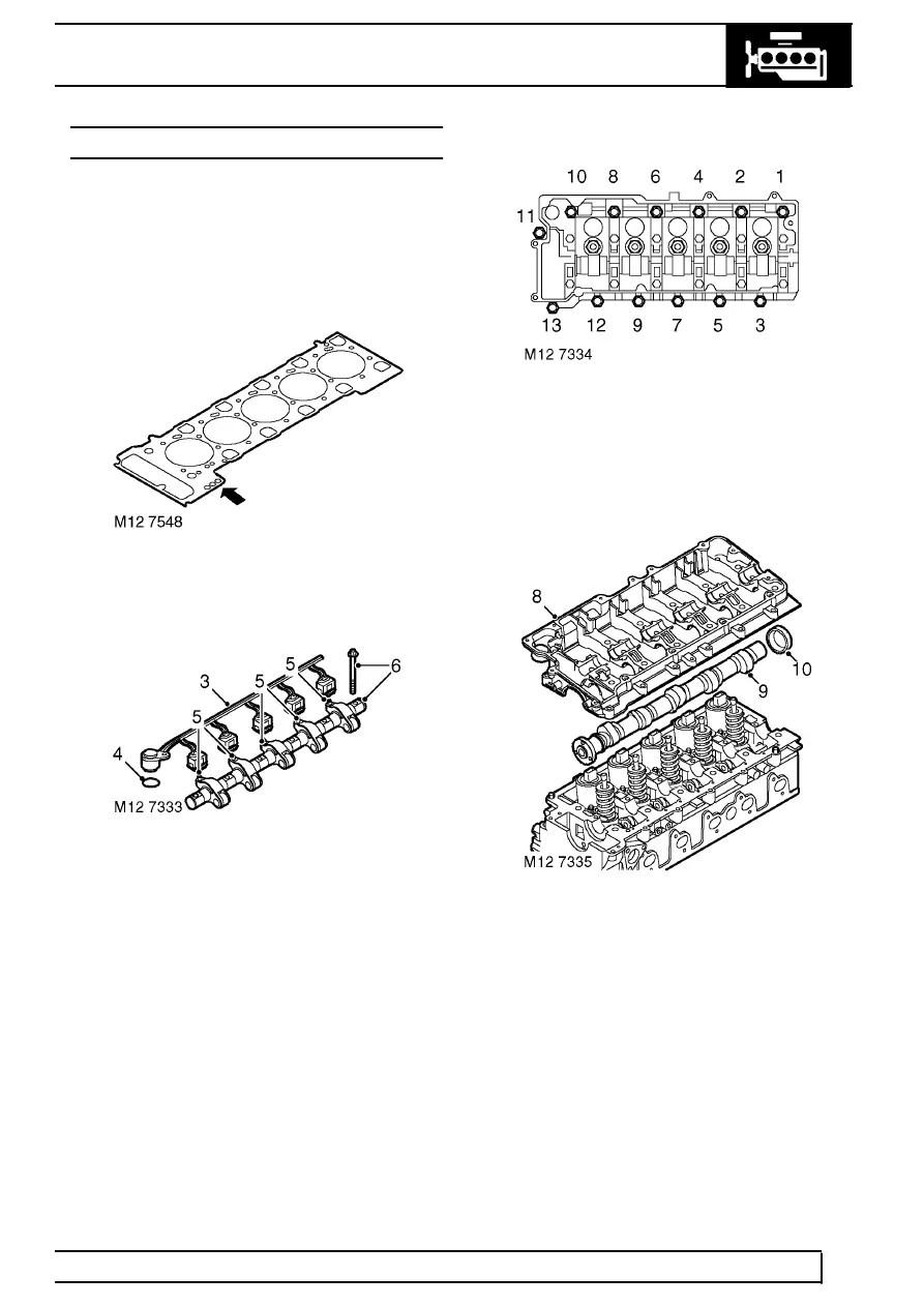 Land Rover Workshop Manuals > TD5 Defender > ENGINE > CAMSHAFT