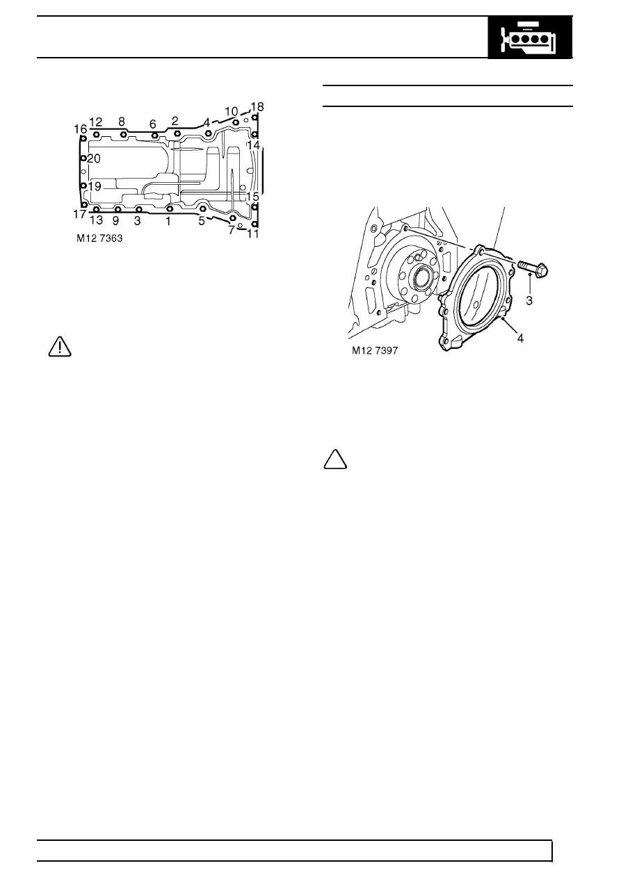 Land Rover Workshop Manuals > TD5 Defender > ENGINE > SEAL
