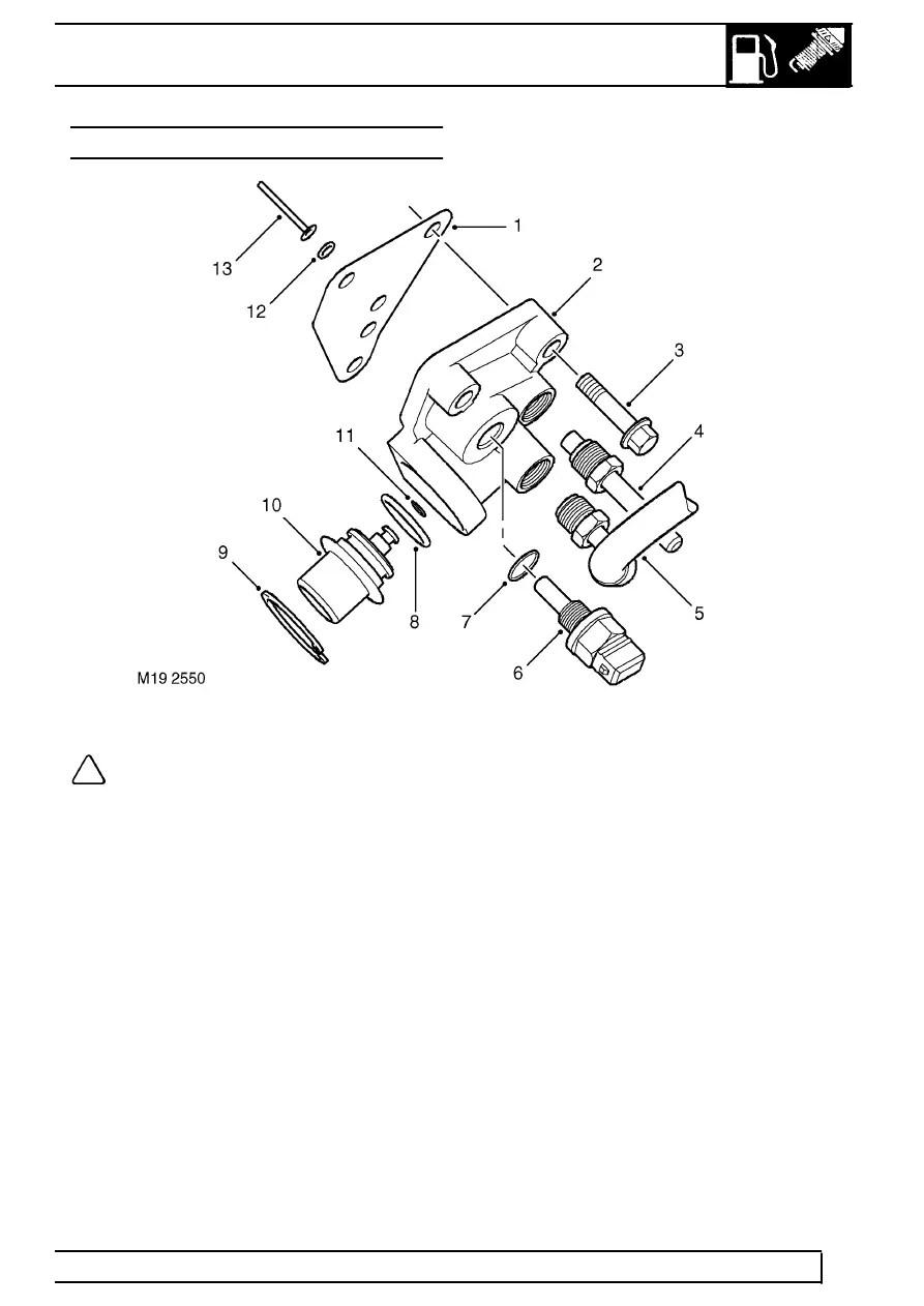 Land Rover Workshop Manuals > TD5 Defender > FUEL SYSTEM
