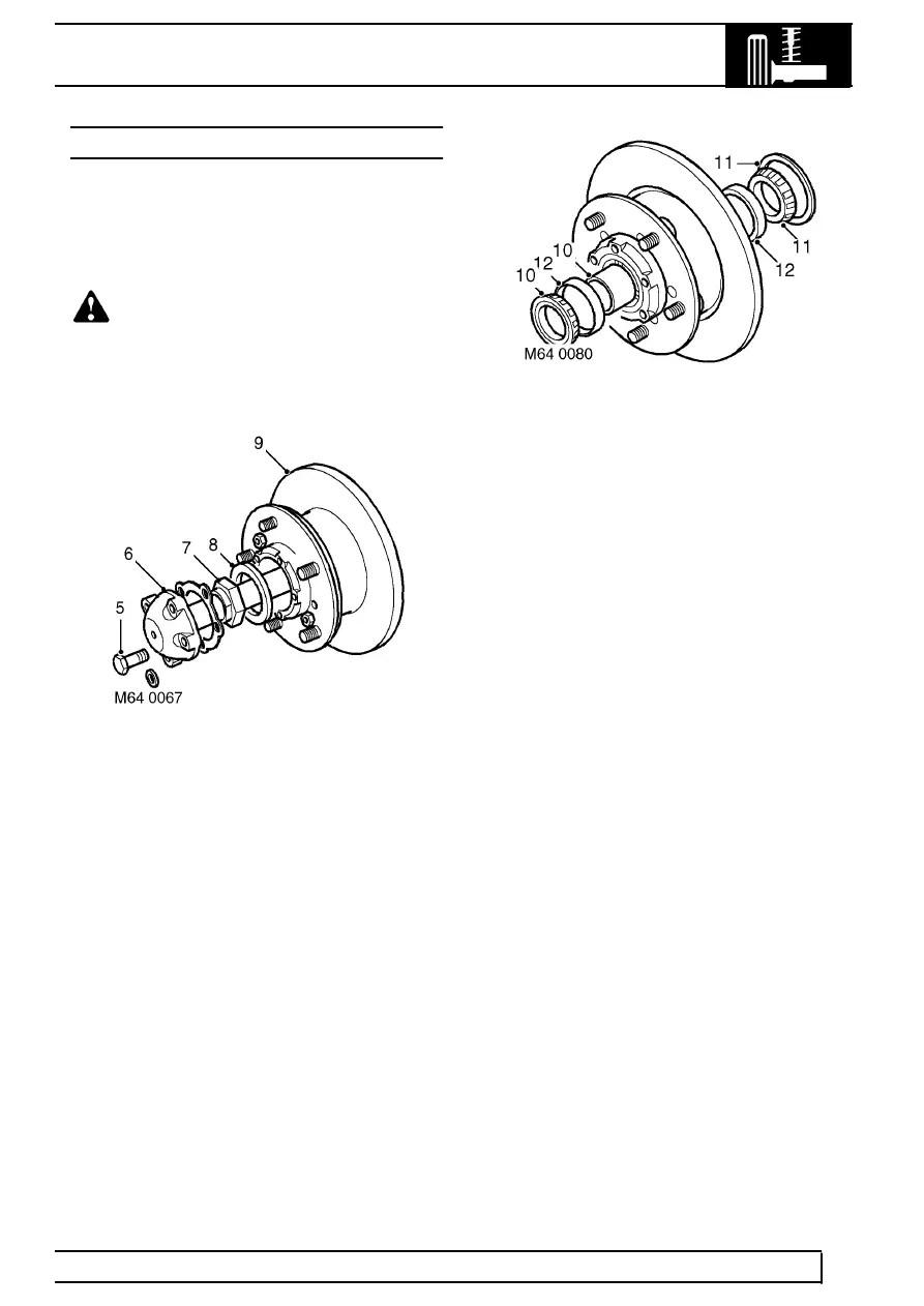 Land Rover Workshop Manuals > TD5 Defender > REAR