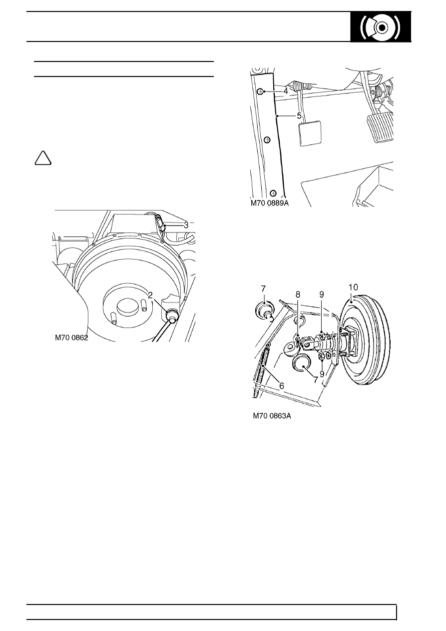 Land Rover Workshop Manuals > TD5 Defender > BRAKES