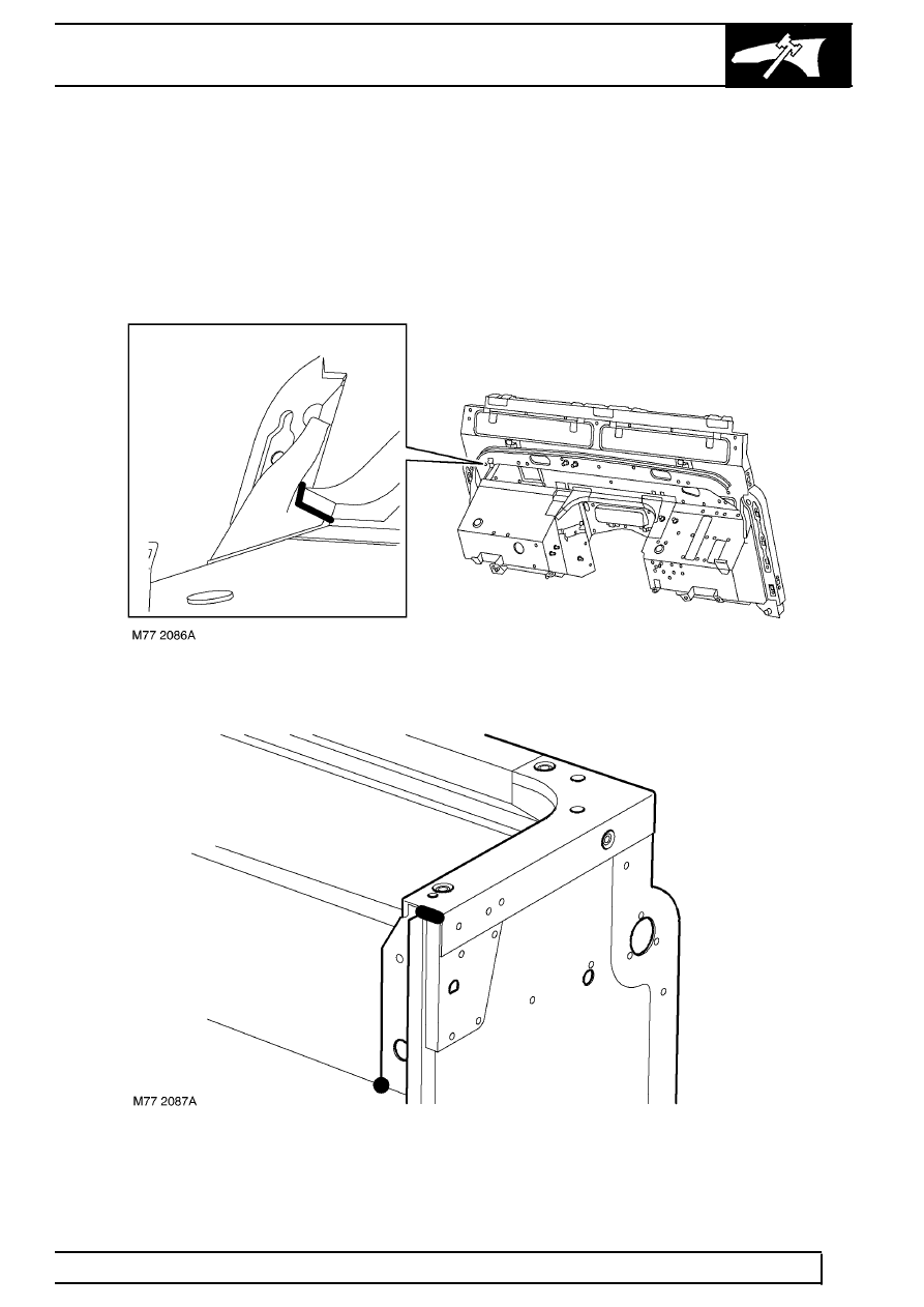 Land Rover Workshop Manuals > TD5 Defender > PANEL REPAIRS