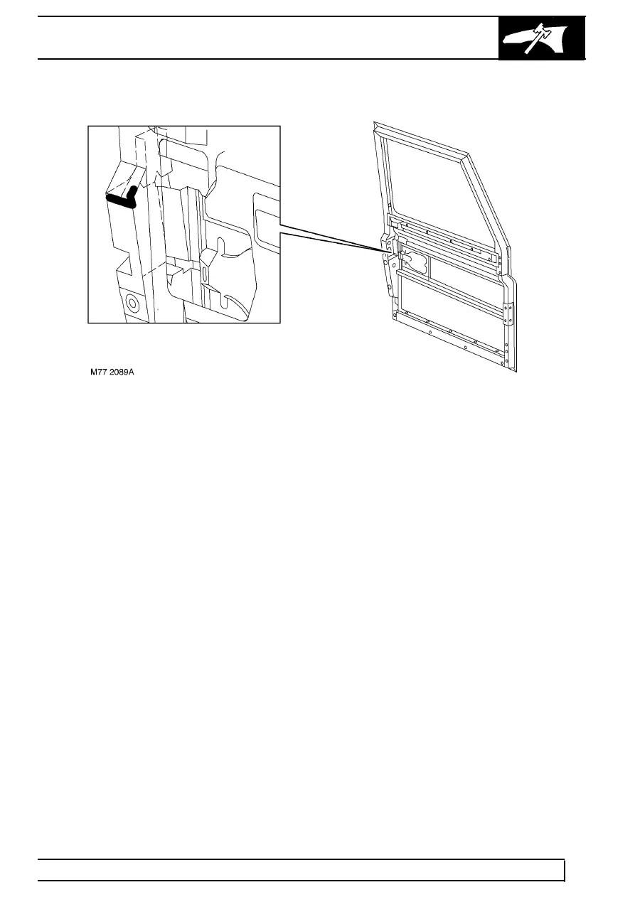 Land Rover Workshop Manuals > TD5 Defender > PANEL REPAIRS