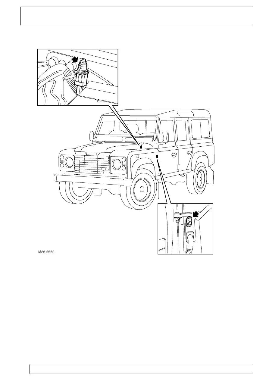 Land Rover Workshop Manuals > TD5 Defender > ELECTRICAL