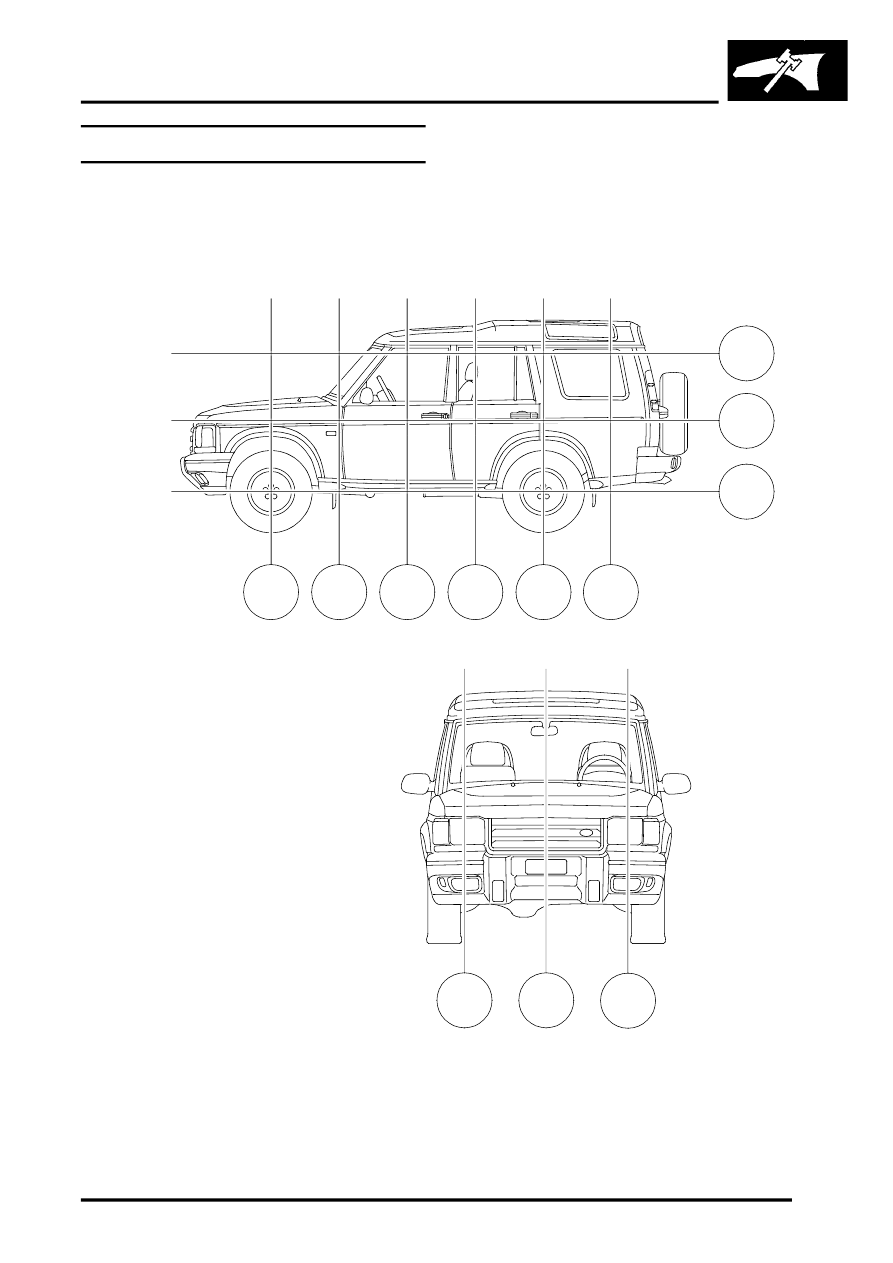 Land Rover Workshop Manuals > Discovery II > CHASSIS AND
