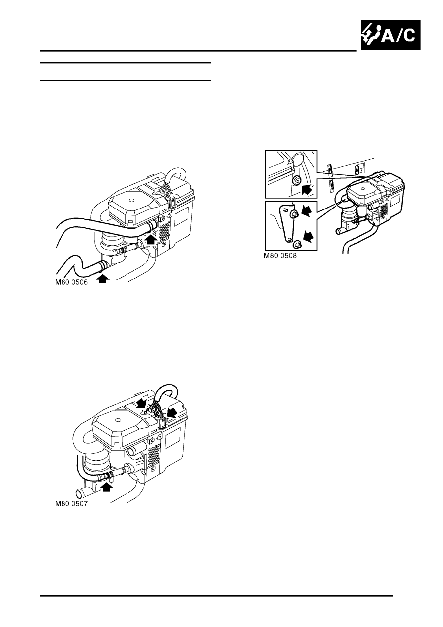 Land Rover Workshop Manuals > Discovery II > HEATING AND
