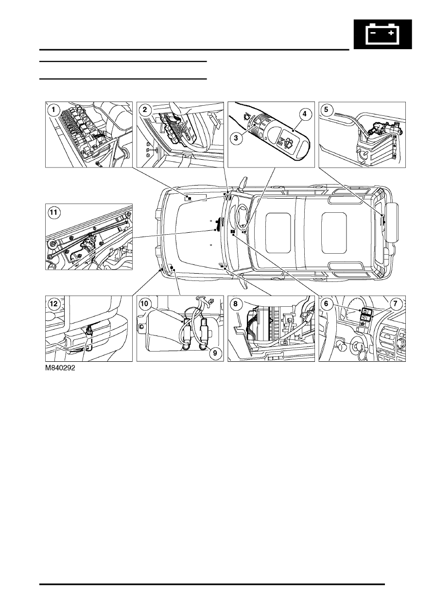 medium resolution of land rover workshop manuals u003e discovery ii u003e wipers and washers relay wiring discovery ii relay diagram