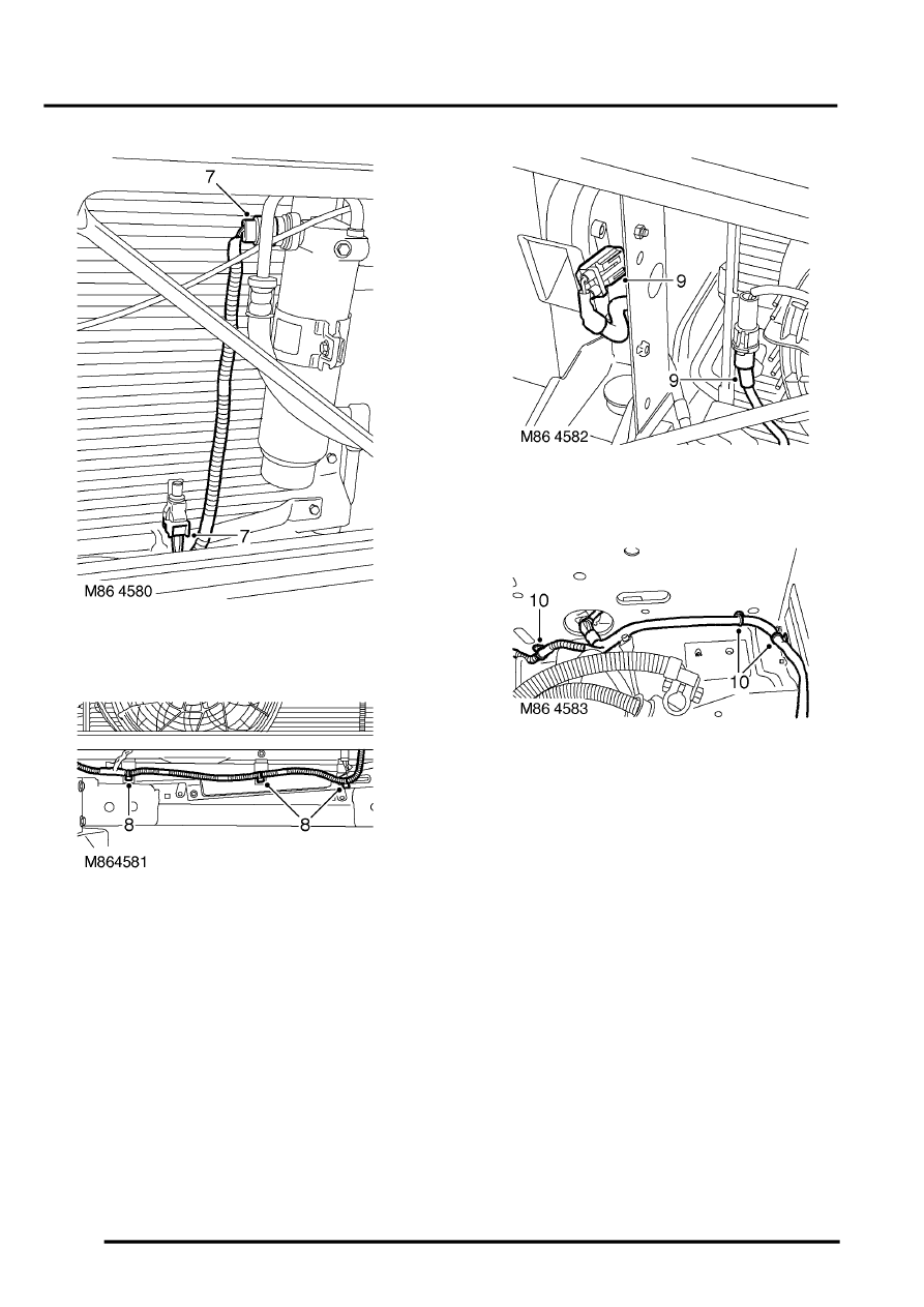 Land Rover Workshop Manuals > Discovery II > HARNESSES