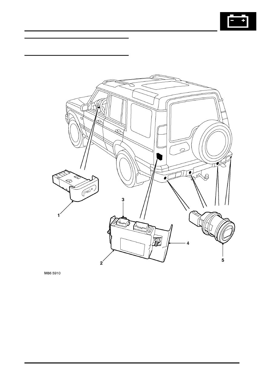 Land Rover Workshop Manuals > Discovery II > DRIVING AIDS