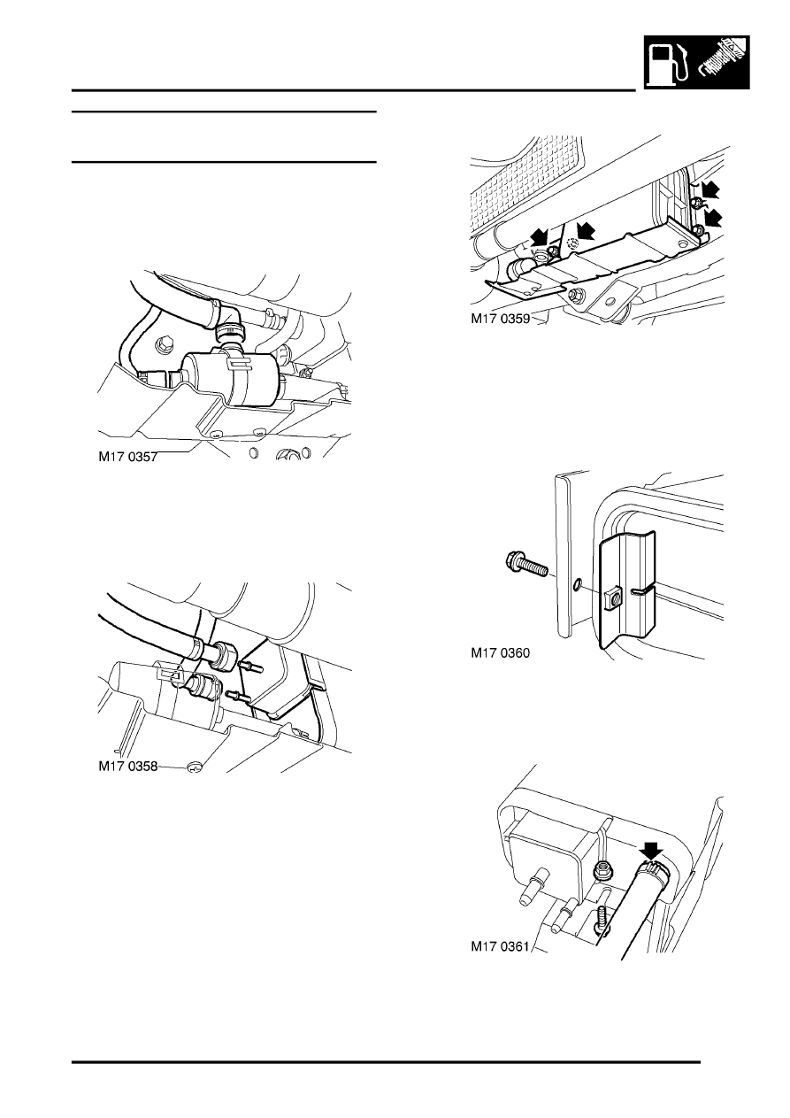 Service manual [Evap Hose Removal 2002 Land Rover