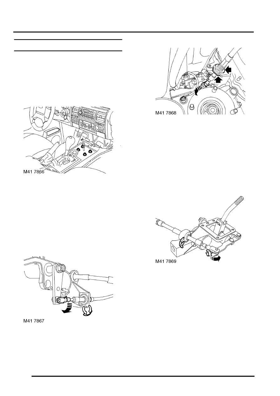 Land Rover Workshop Manuals > Discovery II > TRANSFER BOX