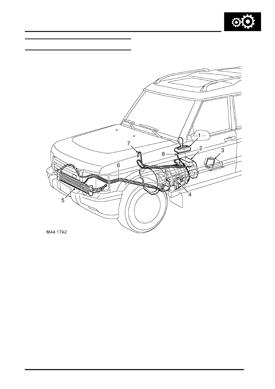 Land Rover Workshop Manuals > Discovery II > AUTOMATIC