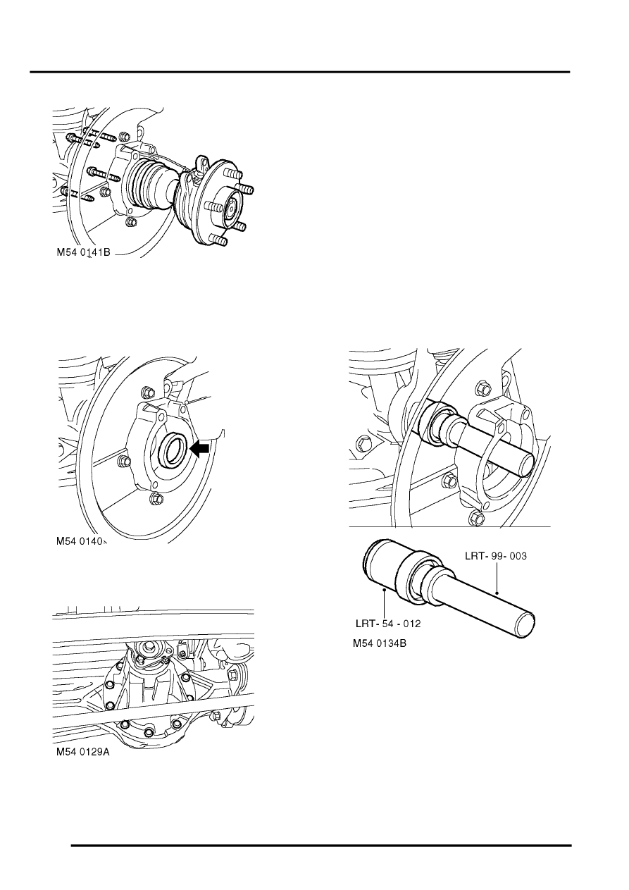 Land Rover Workshop Manuals > Discovery II > FRONT AXLE