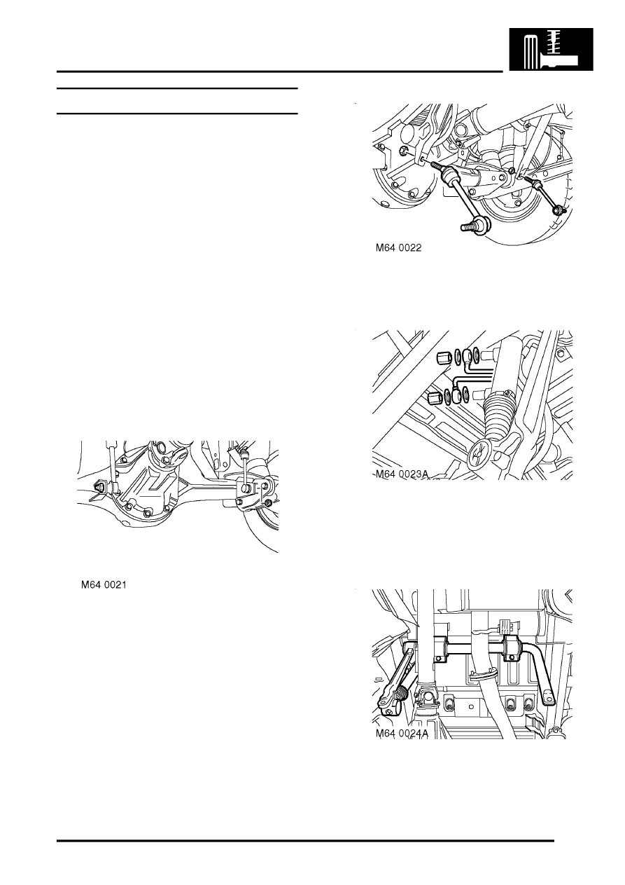 Land Rover Workshop Manuals > Discovery II > REAR