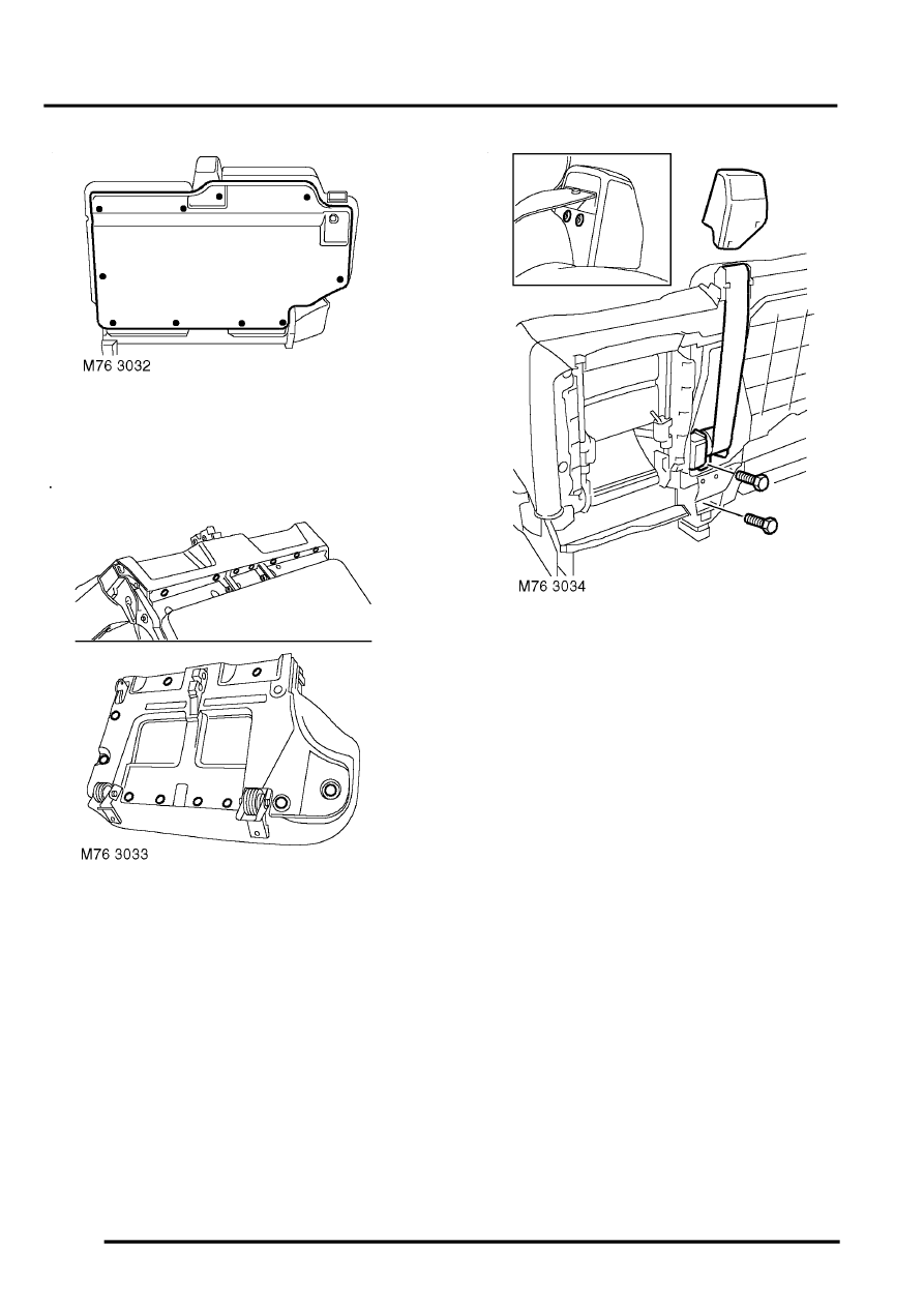 Land Rover Workshop Manuals > Discovery II > RESTRAINT