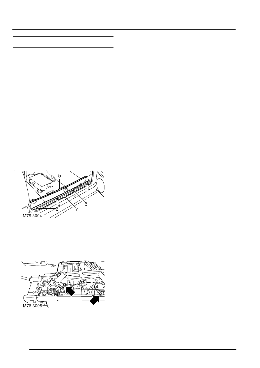 Land Rover Workshop Manuals > Discovery II > INTERIOR TRIM