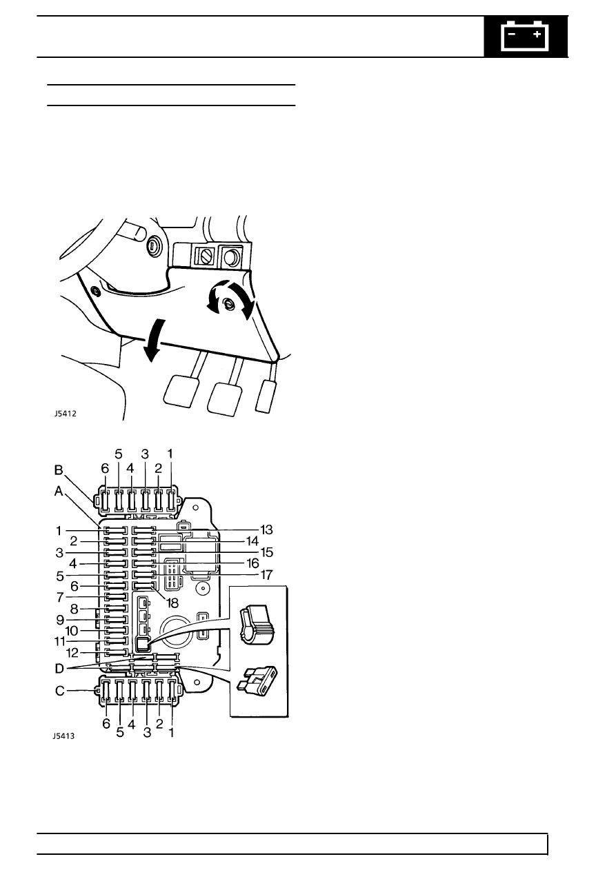 [WRG-7799] Land Rover Discovery 2 Central Locking Wiring