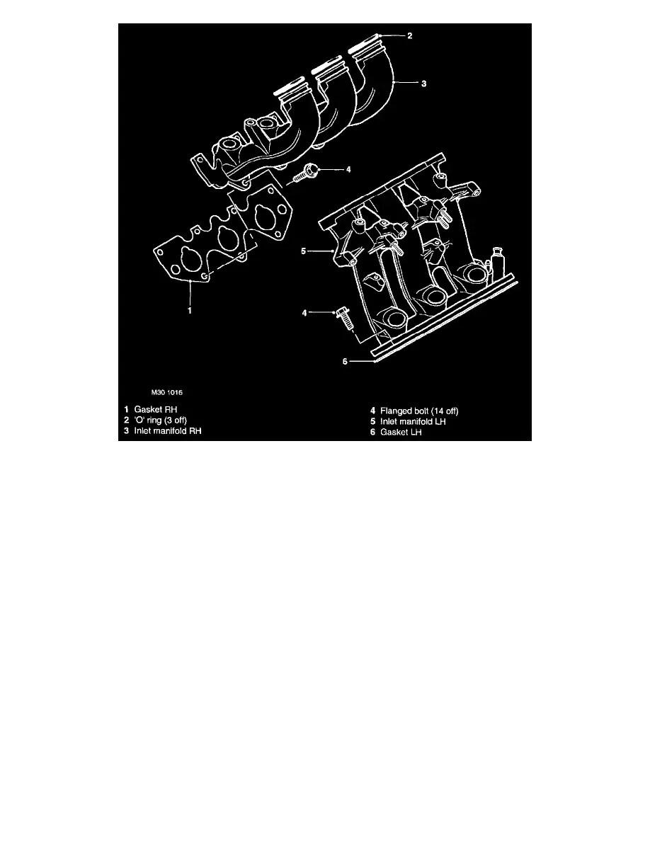 hight resolution of land rover workshop manuals u003e freelander ln v6 2 5l 2004 freelander v6 engine diagram