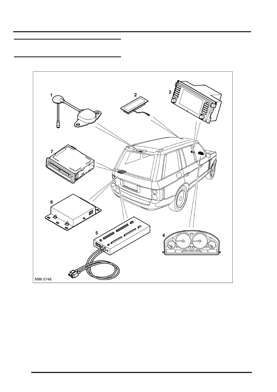 Land Rover Workshop Manuals > L322 Range Rover System