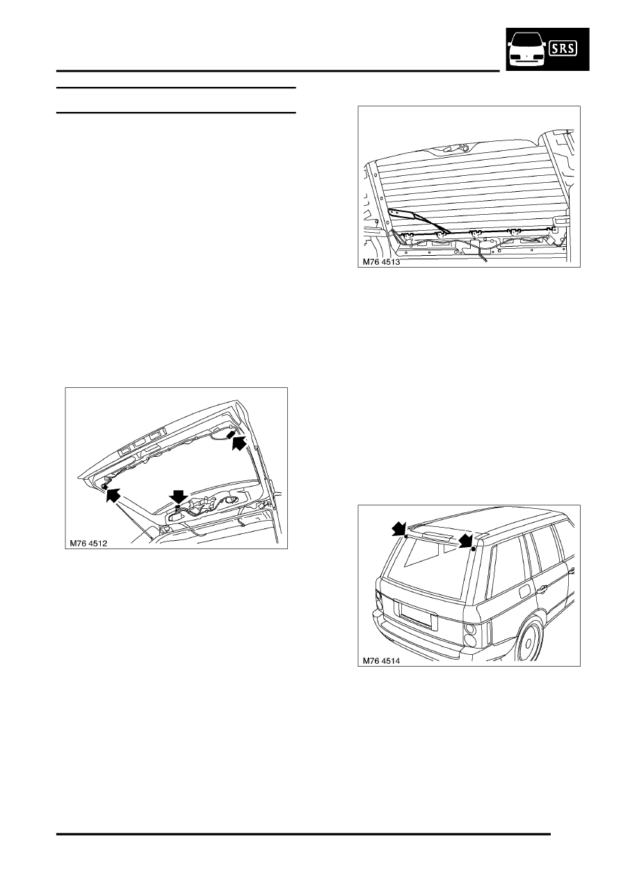 Land Rover Workshop Manuals > L322 Range Rover Service