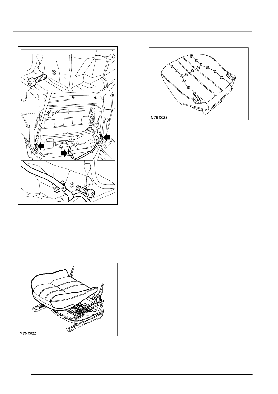 Service manual [How To Remove Front Passenger Seat 1996