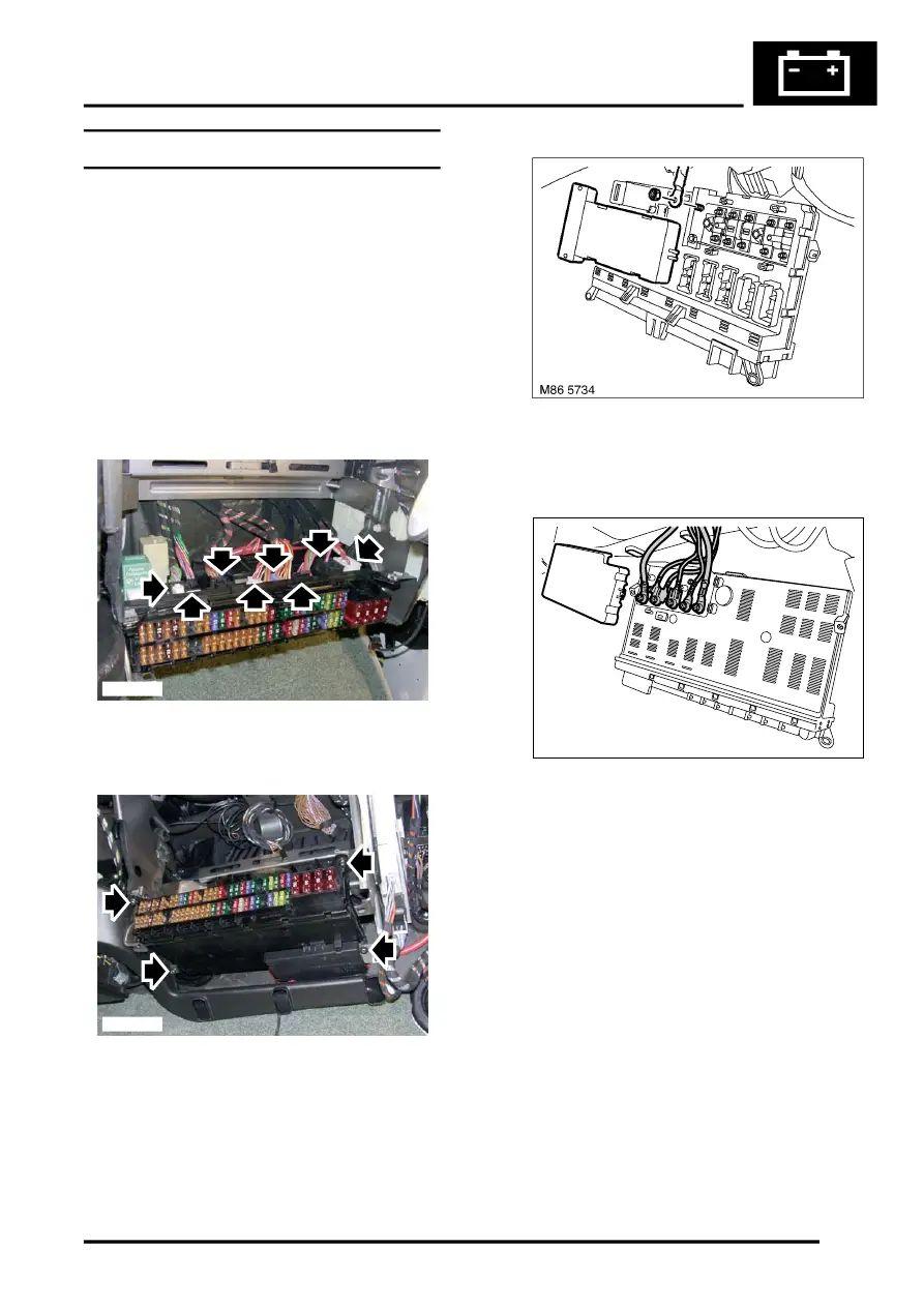 fuse box in range rover
